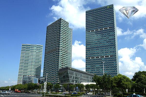 上海世博洲际酒店,上海卓美亚喜马拉雅酒店等都是